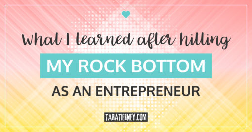 What I Learned After Hitting My Rock Bottom