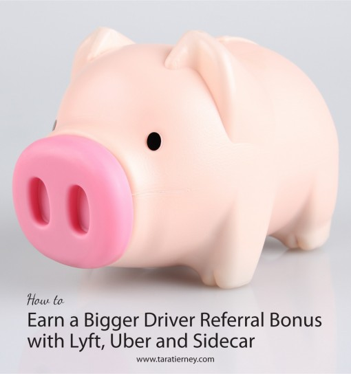 How to Earn a Bigger Driver Referral Bonus Lyft Uber Sidecar