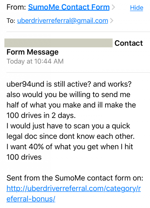 Uber Entitlement Convo 1