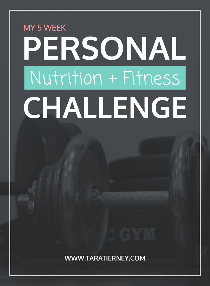 Nutrition Fitness Challenge | Tara Tierney