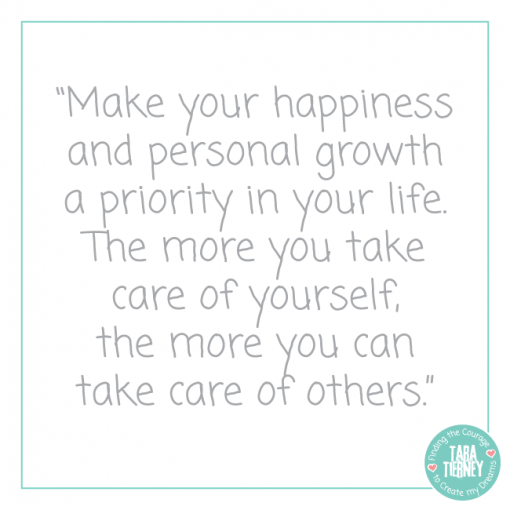 The More You Take Care of Yourself, the More you Can Take Care of Others | Tara Tierney