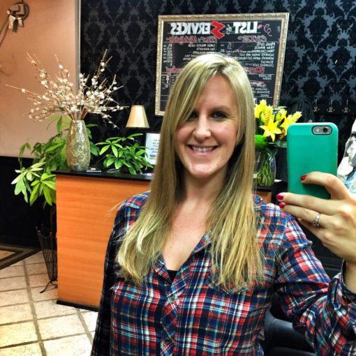 Tara as a Blonde