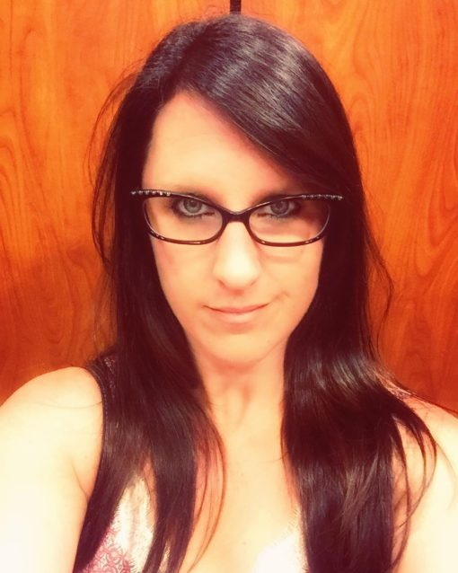 Tara Tierney Dark Hair with Glasses