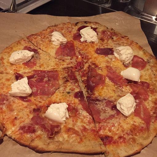 Buratta Pizza | Abby Park | Milton MA