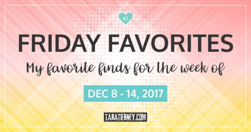 Friday Favorites #2