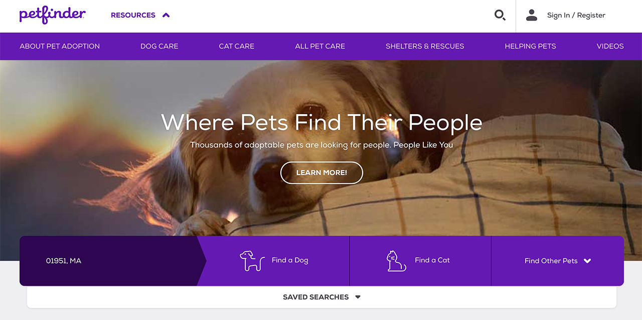 Petfinder - Where Pets find their People