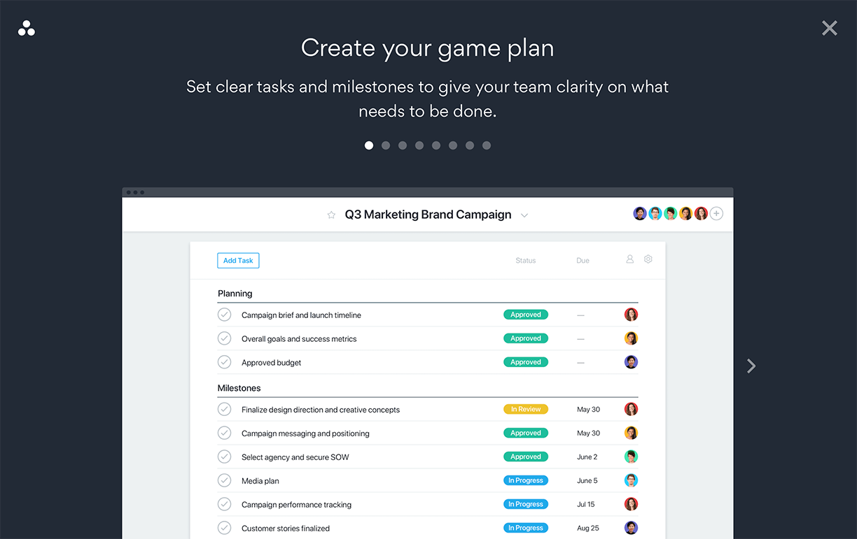 Asana Project Management System