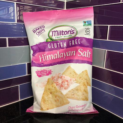 Milton's Gluten Free Himalayan Salt Baked Chips